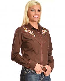 Ariat Women's June Embroidered Snap Western Shirt