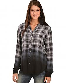 White Crow Women's Hour of Darkness Dip-Dye Shirt