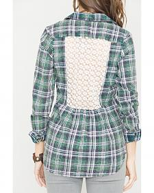 White Crow Zelda Plaid Shirt