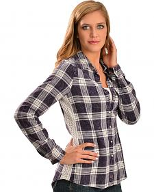 White Crow Women's Stevie Plaid Shirt