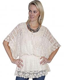 Scully Honey Creek Crochet Top