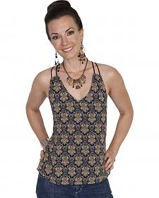 Scully Honey Creek Retro Print Cami