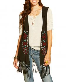 Ariat Women's Bacall Embroidered Vest