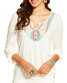 Ariat Women's Taylor Embroidered Top