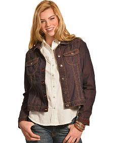 Ryan Michael Women's Color Denim Jacket
