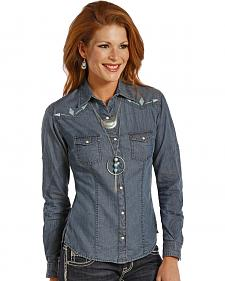 Panhandle Slim Women's Chambray Blanket Shirt