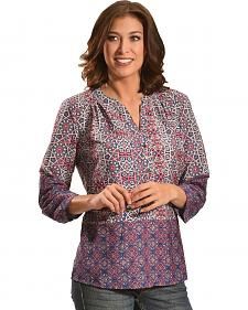 Tantrums Women's Kaleidoscope Print Top