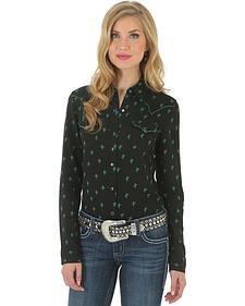 Wrangler Rock 47 Women's Cactus Print Shirt