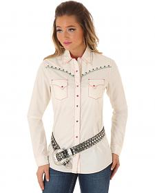Wrangler Rock 47 Women's Heavy Stitch Snap Shirt