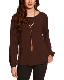 Ariat Women's Brown Kori Top