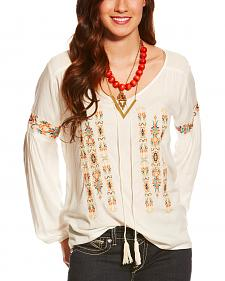 Ariat Women's Embroidered Marrakesh Top