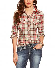 Ariat Women's Astoria Plaid Snap Shirt