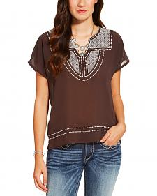Ariat Women's Brown Rio Top