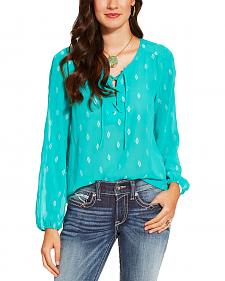 Ariat Women's Teal Sugar Tunic
