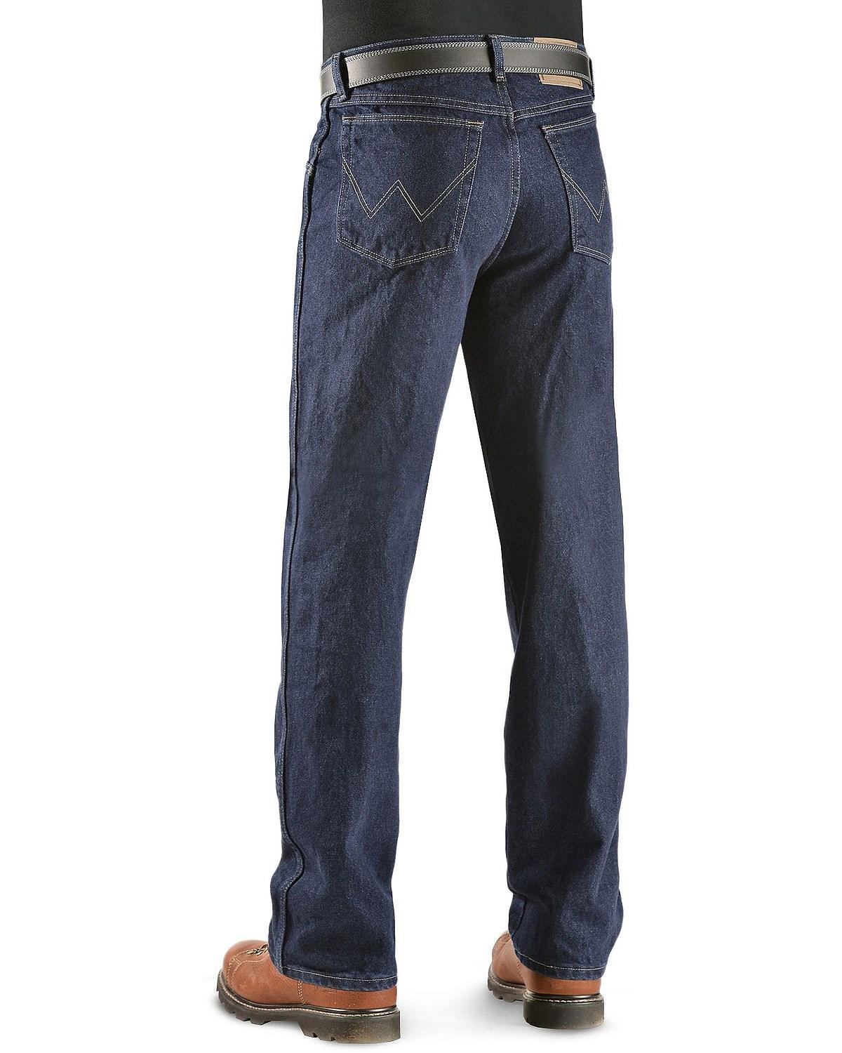 Wrangler Men S Jeans Rugged Wear Classic Fit 39902sw X