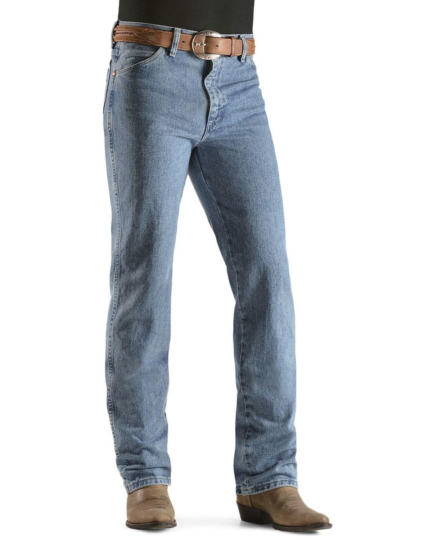 7168cbcba68 Details about Wrangler 936 Cowboy Cut Slim Fit Prewashed Jeans - BLUE DUST