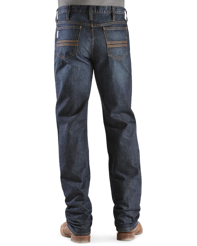 8664387c Image is loading Cinch-Silver-Label-Dark-Wash-Jeans-MB98034002-IND