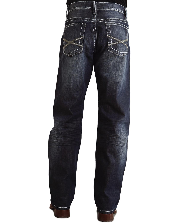 Stetson 1520 Fit Bold  X  Stitched Jeans - 11-004-1520-4051 BU