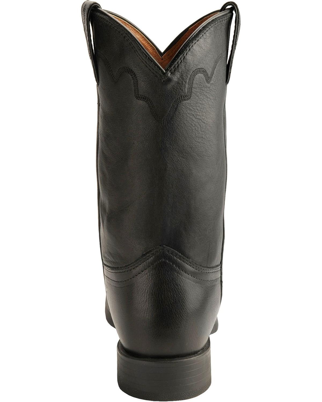 Justin Men S Stampede Roper Cowboy Boot Square Toe 3904