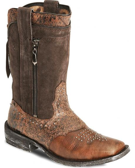 Ariat Rodeo Baby Envy Boot Wide Square Toe Sheplers