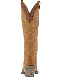 Ariat Heritage Western Wingtip Cowgirl Boots Snip Toe