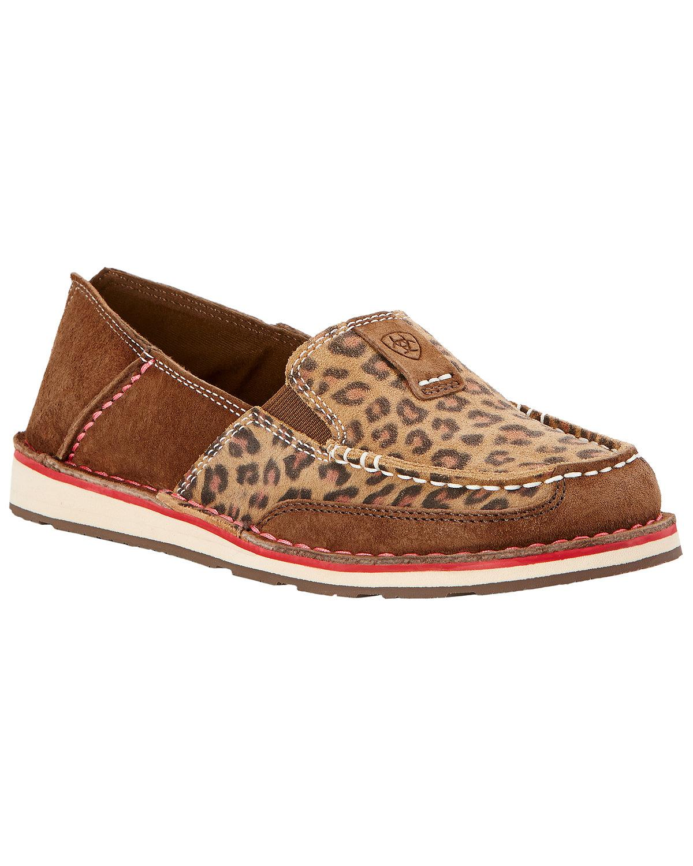 Ariat Women's Leopard Print Cruiser Shoes  - 10017458