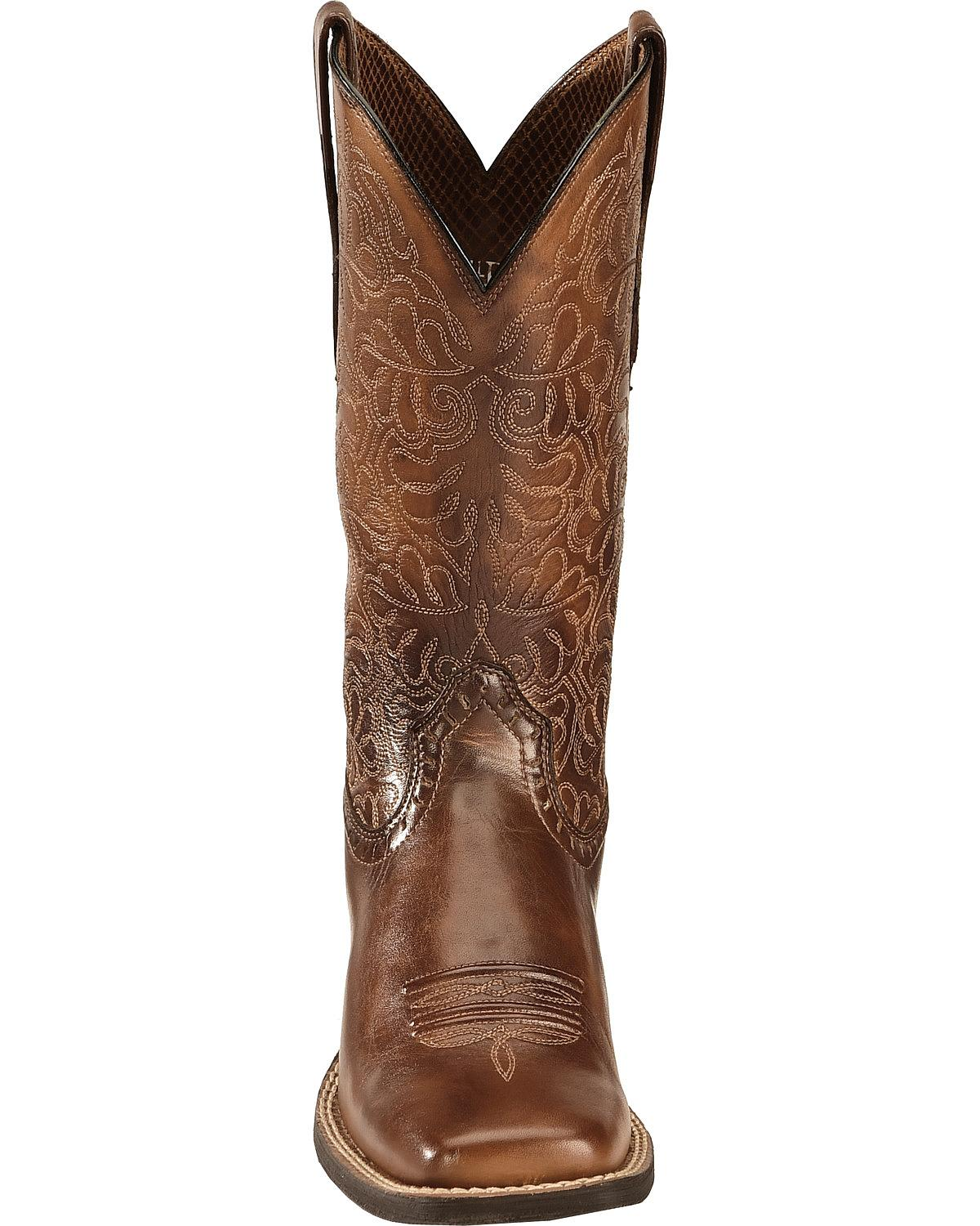 8ff043f5d71 Details about Ariat Rich Round Up Remuda Cowgirl Boot - Square Toe -  10019907