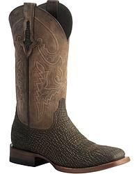 Men's Lucchese Handmade Shark Skin Cowboy Boots