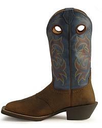 Justin Stampede Punchy Men S Cowboy Boots Square Toe