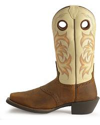 Justin Punchy Stampede Cowboy Boots Sheplers