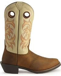 Justin Punchy Stampede Cowboy Boots Sheplers