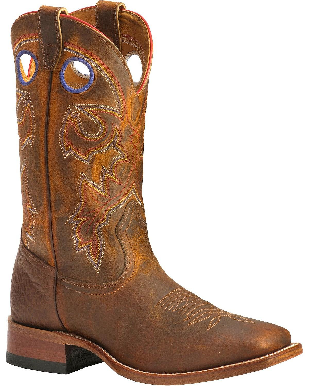 Boulet Stockman Cowboy avvio - Wide Square Toe - 9283