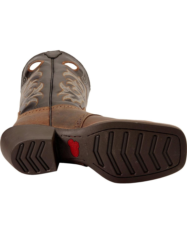 Justin Men S Punchy Stampede Cowboy Boot Square Toe Ebay