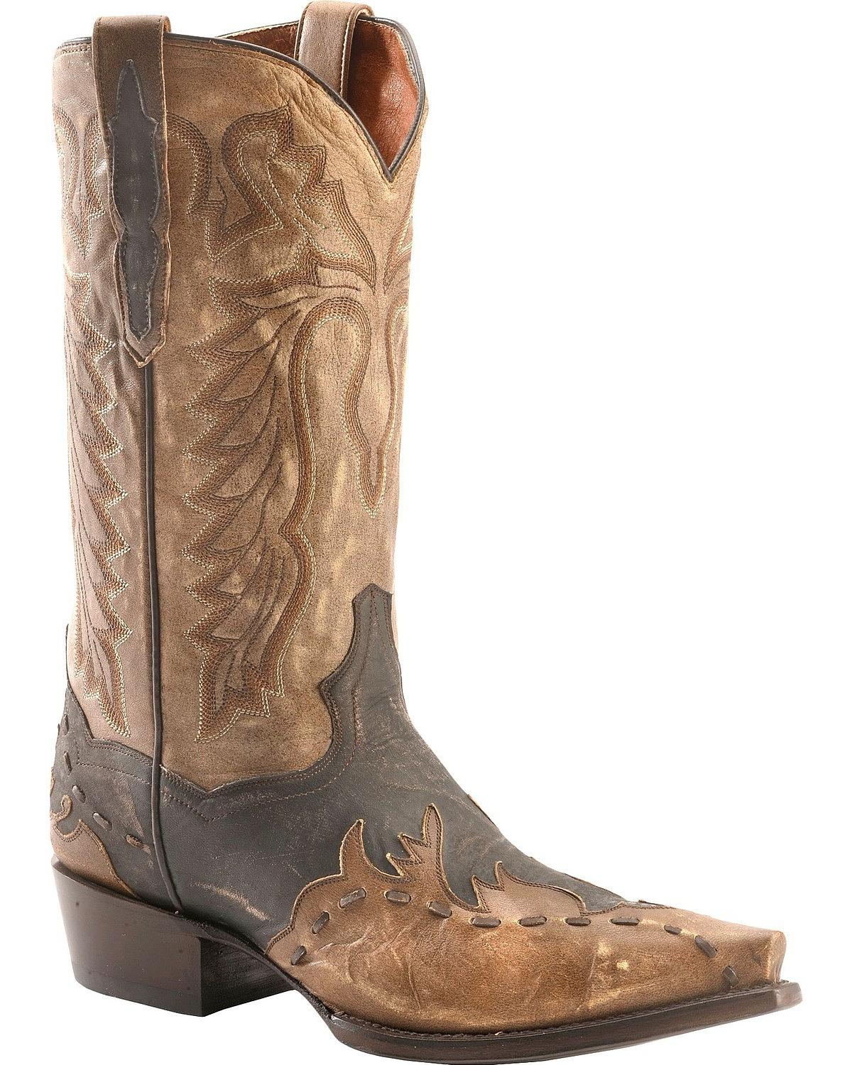Dan Lucky Cowboy bota-Post SNIP Toe Break-DP2249