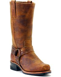 Men's Harness boots-shoes