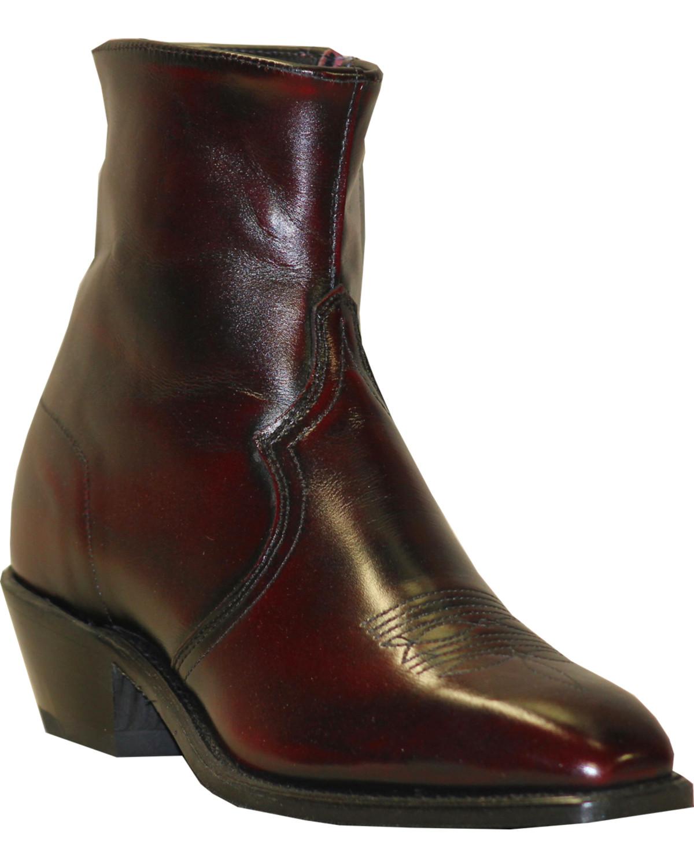 abilene boot s zipper dress boot 6464 ebay