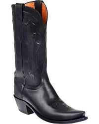 Women's Lucchese Handmade Smooth Leather Cowgirl Boots