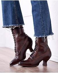 Women's Granny Boots