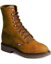 Lace-Up Work Boots