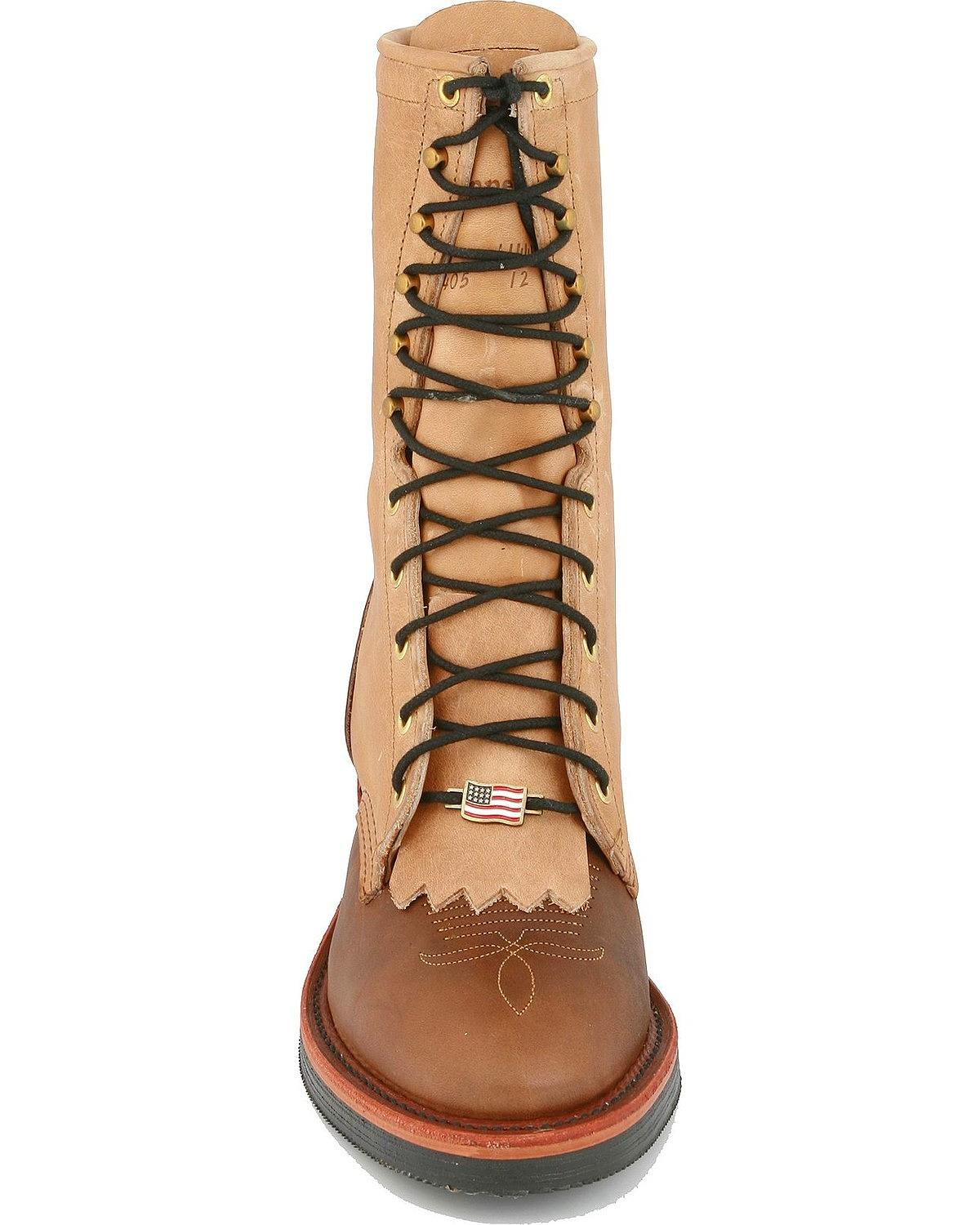 Chippewa Men S 10 Quot Lace Up Packer Boot 29408