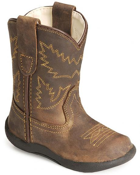Old West Toddler Boys' Crazy Horse Boots - Sheplers
