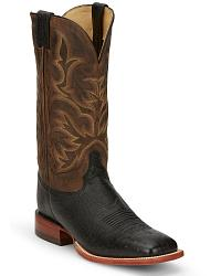 Men's Smooth Ostrich Skin Cowboy Boots