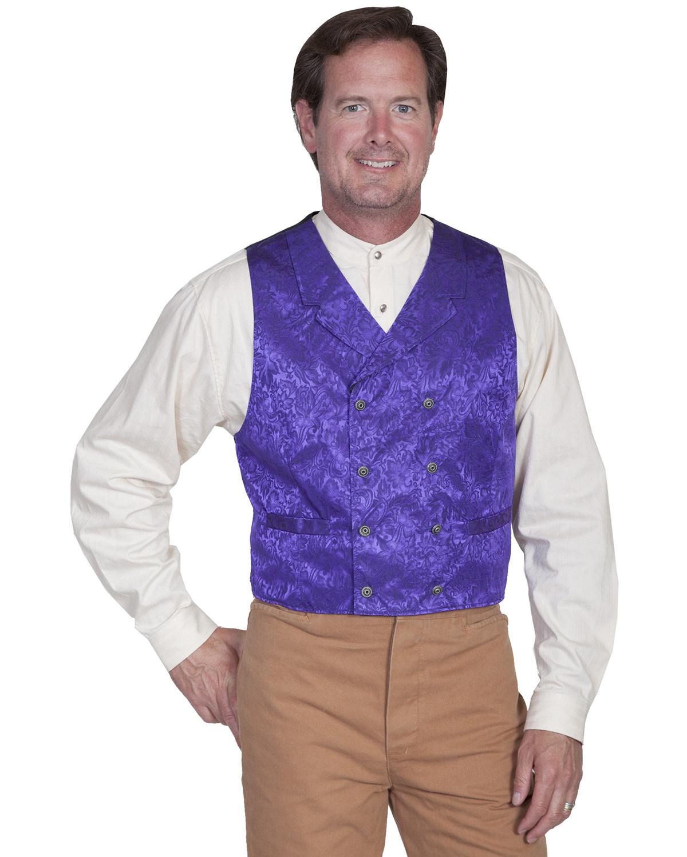 Scully Western Vest Mens Silk Jacquard Formal Dress Button 535344 ...
