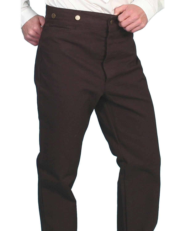 Rangewear-by-Scully-Canvas-Pants-RW040-WAL miniatuur 8