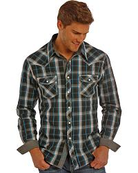 Men's Plaid Long Sleeve Shirts