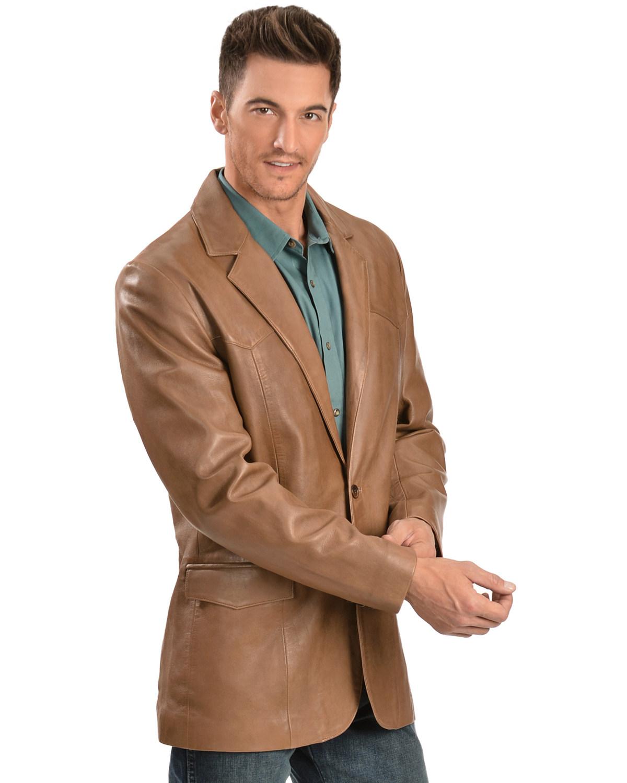 Reg 501-427 Scully Lamb Leather Blazer