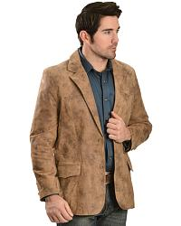 Men's Leather Blazers & Sport Coats