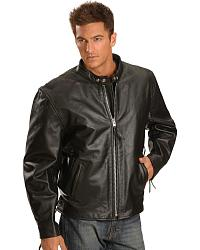 Men's Biker Jackets & Apparel