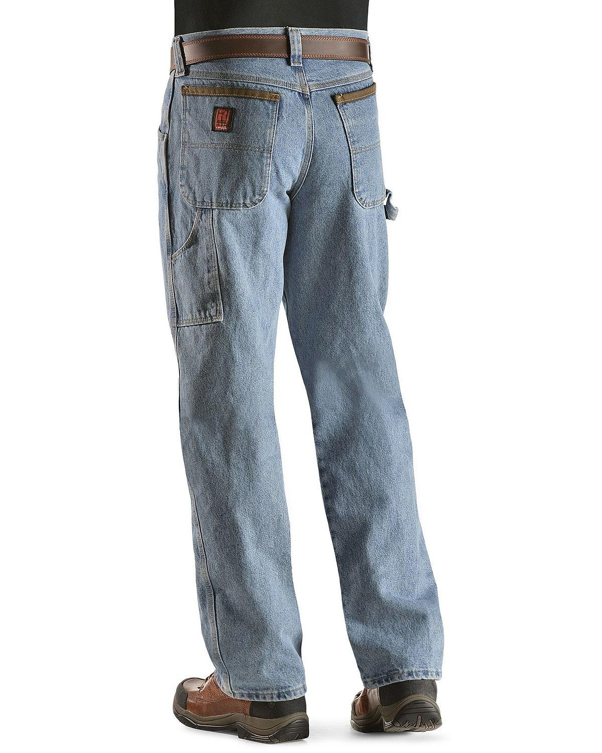 0a839b33 Riggs Workwear by Wrangler Mens Big & Tall Carpenter Jean Vintage ...