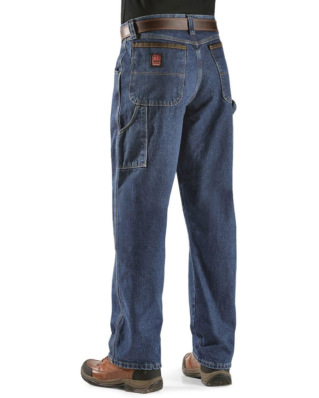 wrangler riggs carpenter jean antique indigo 52 32 ebay